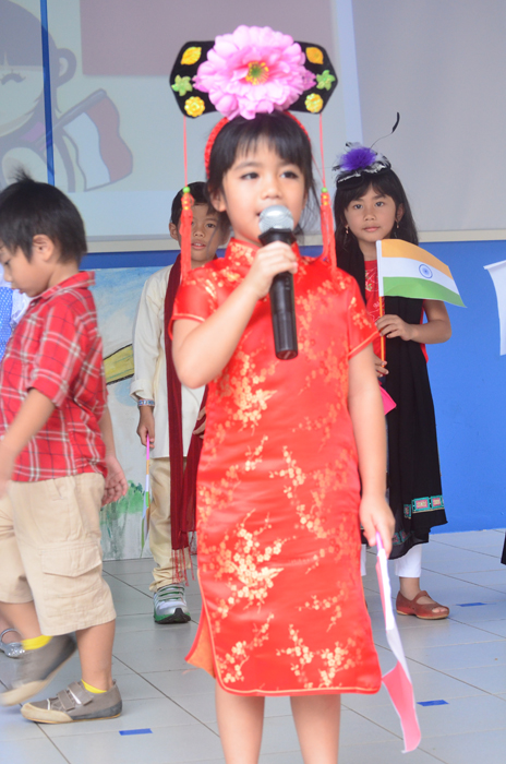 The Chinese little lady
